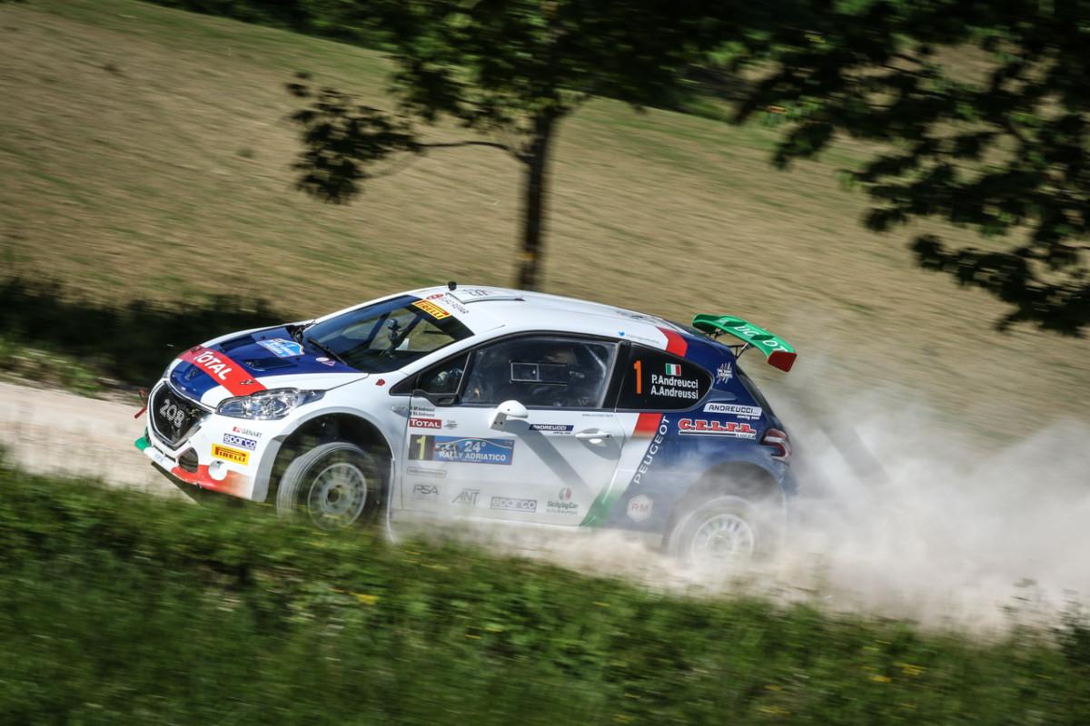 Rally Adriatico, De Tommaso primo di classe e tra gli junior