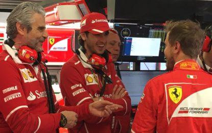 Giovinazzi in pista nelle FP1 di 7 GP con il team Haas F1