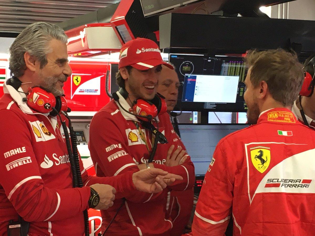 F1 | Ferrari, Giovinazzi in pista nelle FP1 di Silverstone