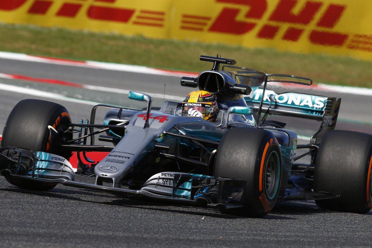 Spagna: Mercedes davanti nelle libere del venerdì