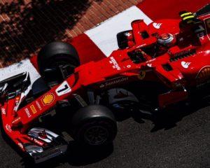 GP Monaco: prima fila Ferrari, con pole di Raikkonen