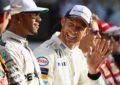 Jenson Button carico per il ritorno a Monaco