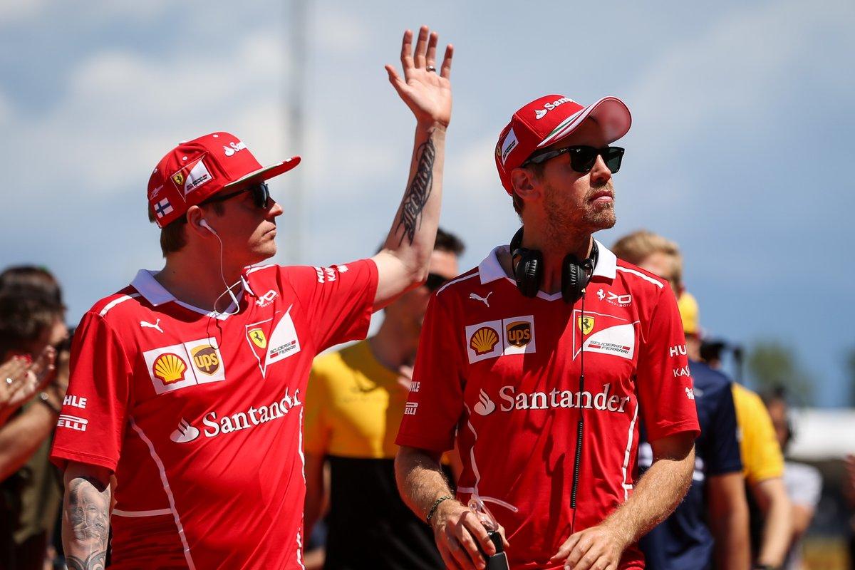 Brasile: Vettel e Raikkonen decisi a lottare