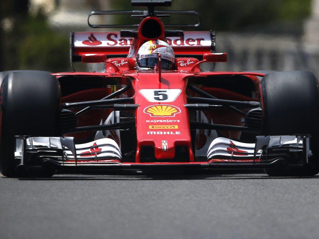 Vettel da record nelle FP2 a Monaco