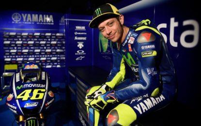 Valentino Rossi: solo dolori, ma tutto sotto controllo