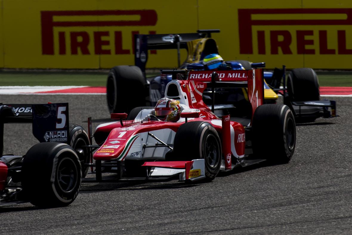 Pirelli per Formula 2 e GP3 a Barcellona
