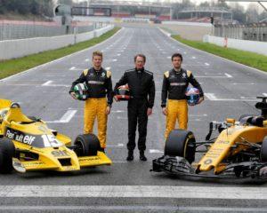 I 40 anni di Renault in Formula 1