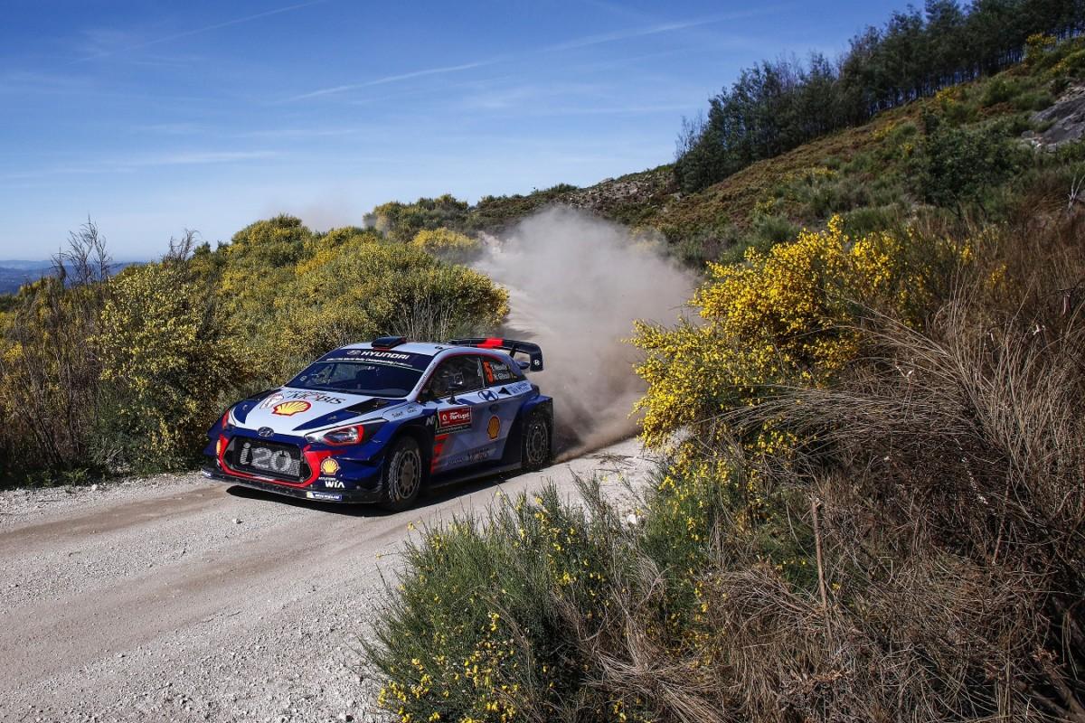 WRC: doppio podio al Rally del Portogallo per Hyundai