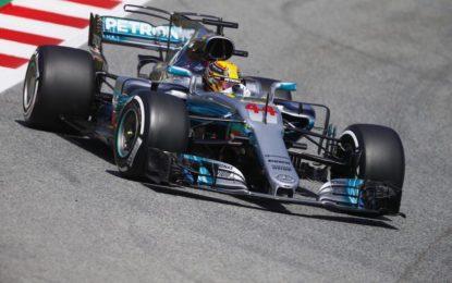 Spagna: pole di Hamilton, eroe del sabato con Vettel e Alonso