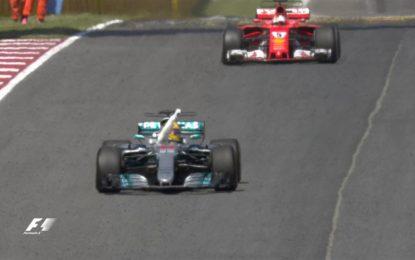 Spagna: Hamilton, Vettel, Ricciardo. Ma vince il piccolo tifoso!