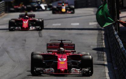 La Ferrari torna a vincere a Monaco dopo 16 anni. E fa doppietta