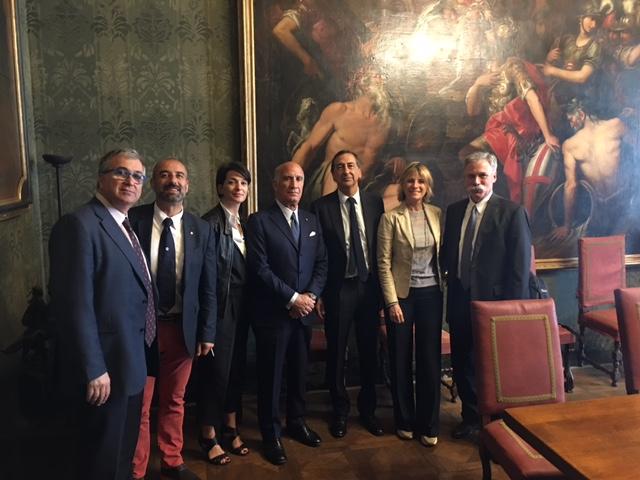 GP d'Italia F1 2017: primi incontri istituzionali