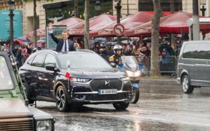DS 7 Crossback per il neo-presidente Emmanuel Macron