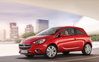 Opel Corsa a quota 750.000 ordini