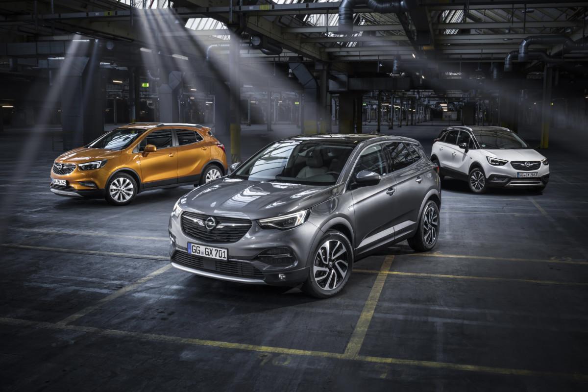 La nuova gamma Opel X