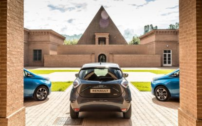 Nuova Renault ZOE: autonomia record