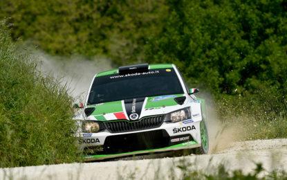 Rally Adriatico: 1° tappa alla ŠKODA Fabia R5