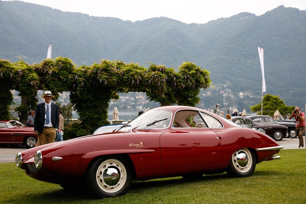 Alfa Romeo Giulietta SS Prototipo Best of Show a Villa d'Este