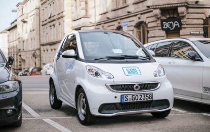 """car2go """"Proud to share"""""""