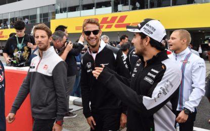 Grosjean fa i nomi dei piloti non-GPDA