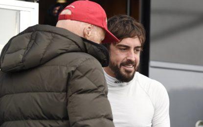 Lauda esclude un passaggio di Alonso in Mercedes