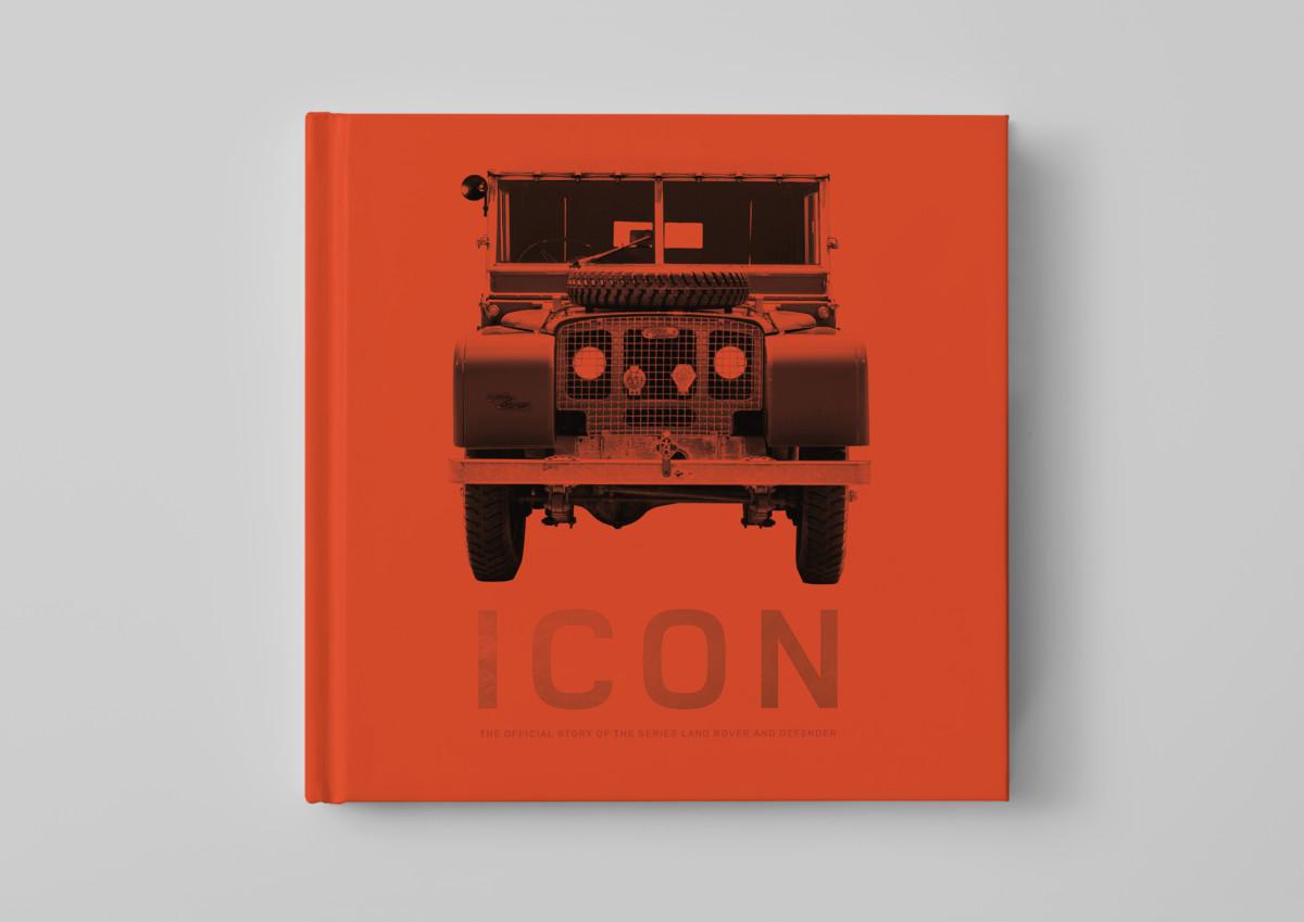 Icon: il libro ufficiale Land Rover Defender
