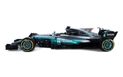 GP Spagna: ecco la nuova livrea Mercedes