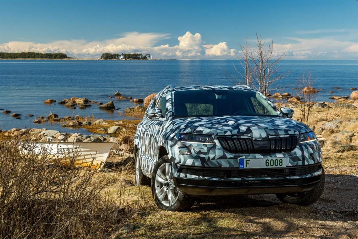 KAROQ: il nuovo SUV compatto ŠKODA