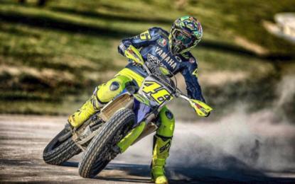Caduta di Rossi in motocross: trauma addominale e toracico