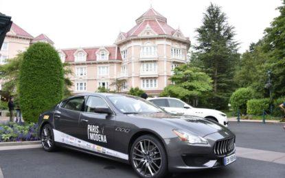 Maserati per la 4° edizione della Parigi-Modena