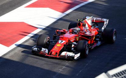 Azerbaijan: seconda fila per le Ferrari di Raikkonen e Vettel