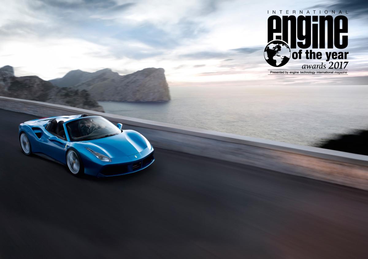 International Engine of the Year Awards al V8 turbo Ferrari