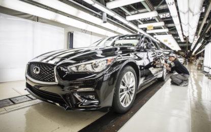 INFINITI Q50 MY 2018: inizio produzione in Giappone