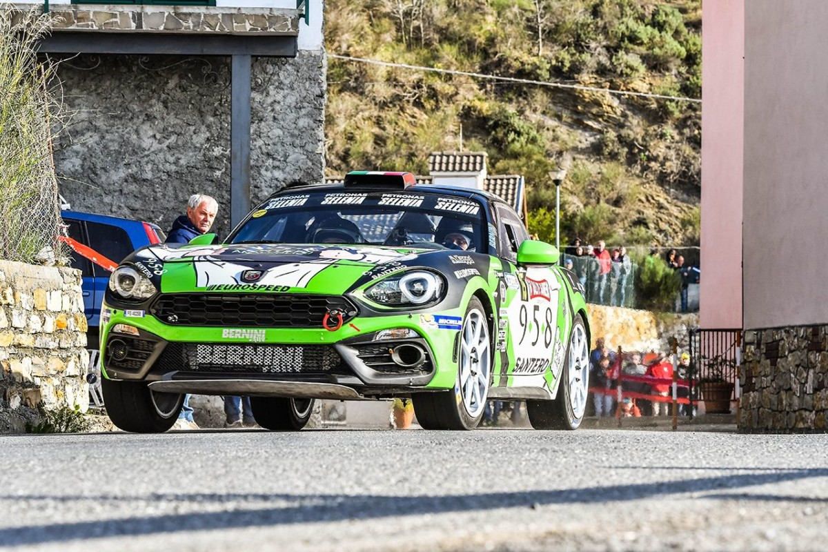 Trofeo Abarth 124 rally: il weekend del Salento