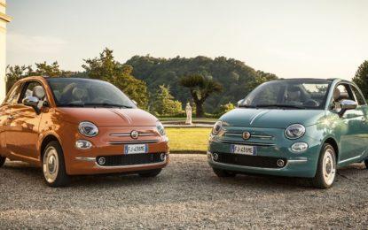 Nuova Fiat 500 Anniversario: regalo per i 60 anni