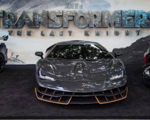 """Lamborghini Centenario alla prima londinese di """"Transformers"""""""