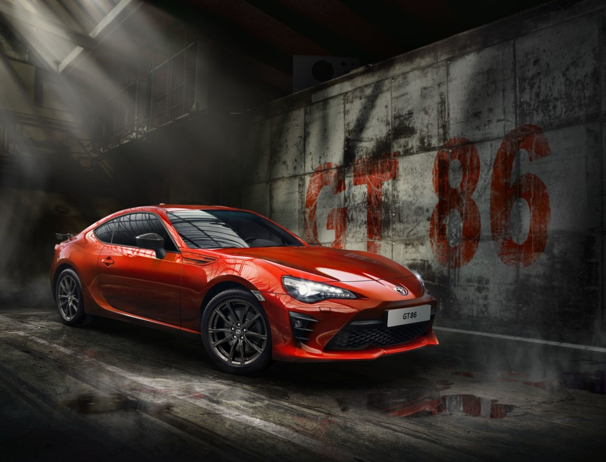 Toyota GT86 Orange Limited Edition