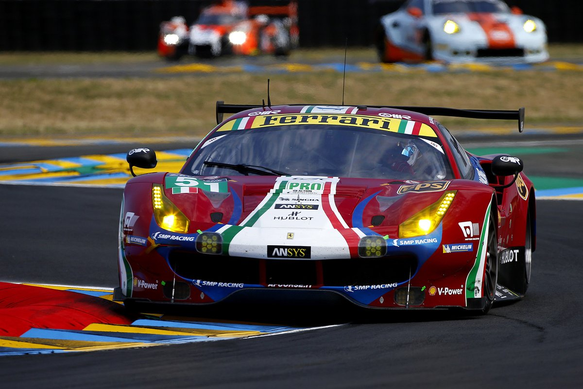 Le Mans: Rugolo sostituisce Di Grassi sulla Ferrari #51