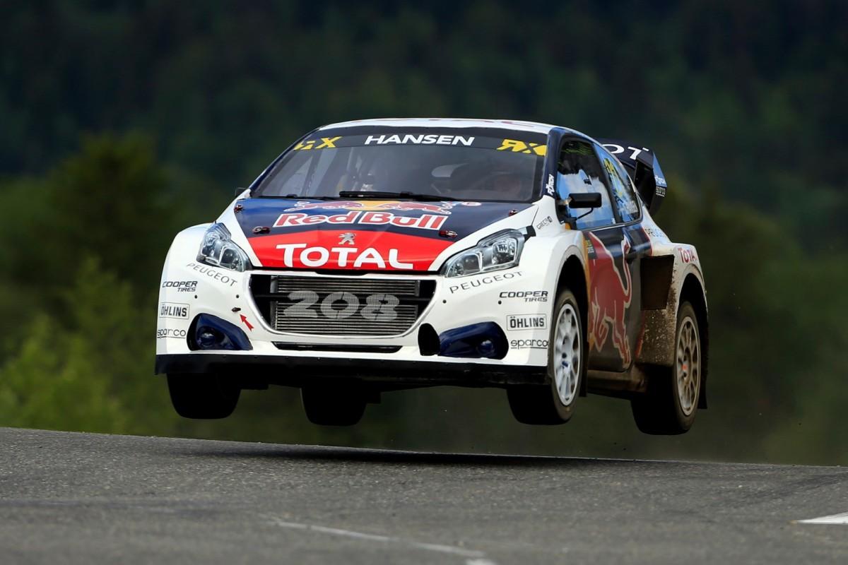 Rallycross: le Peugeot 208 WRX pronte per la Svezia