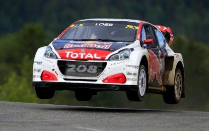 Rallycross: nuovo podio per Loeb in Norvegia