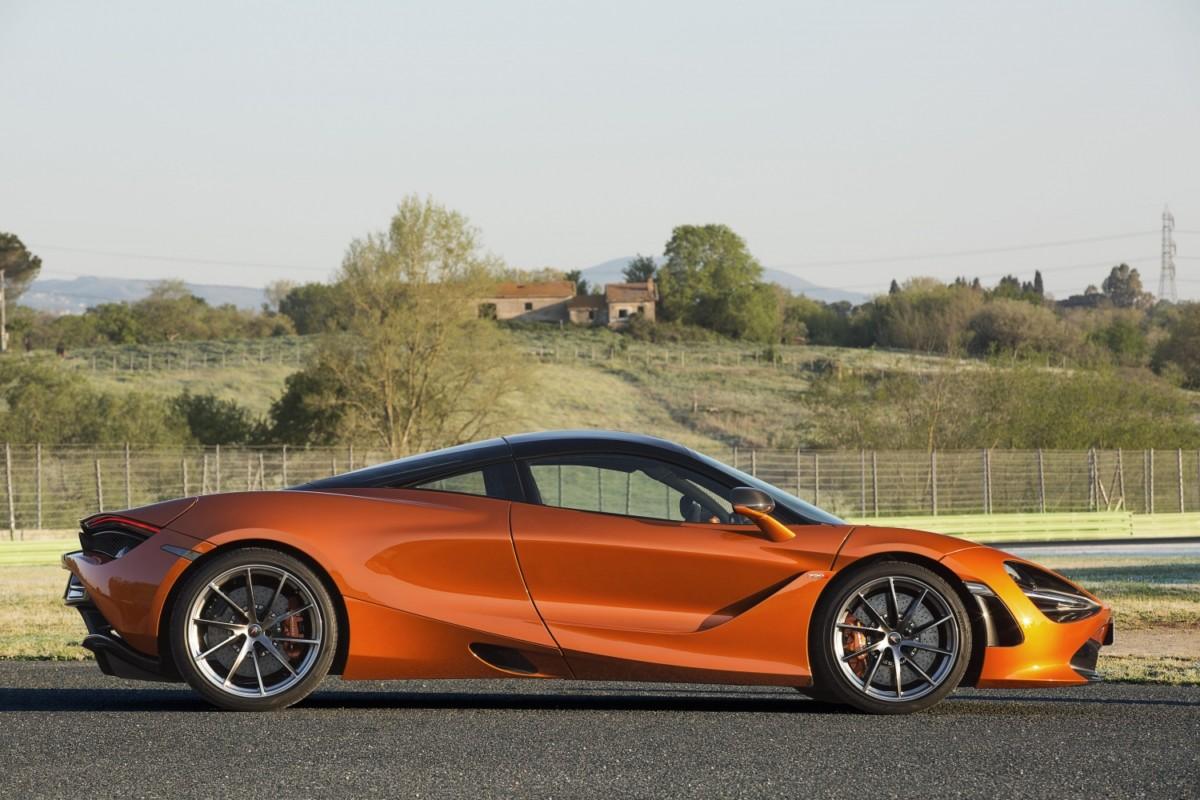 McLaren 720S: debutto in Italia al Salone di Torino