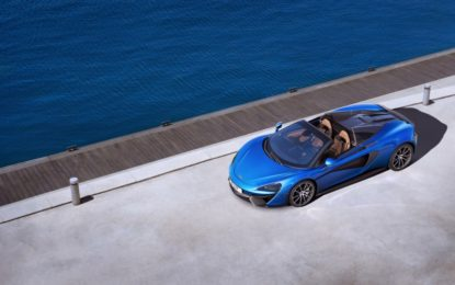 Nuova McLaren 570S Spider: cabrio senza compromessi