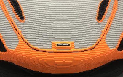 A Goodwood una McLaren 720S in scala 1:1 by LEGO