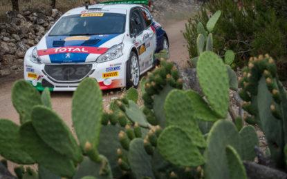 Peugeot e Andreucci dominano il Rally del Salento