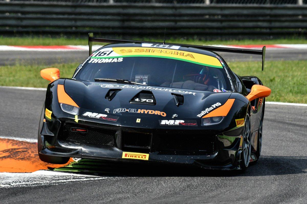 A Monza inizia il weekend del Ferrari Challenge