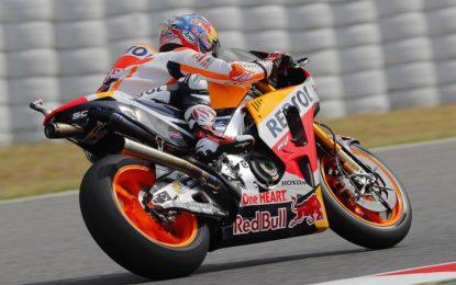 MotoGP: pole di Pedrosa al Catalunya, Rossi fuori nel Q1