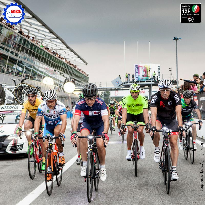 12H Cycling Marathon: tutti in pista stasera a Monza