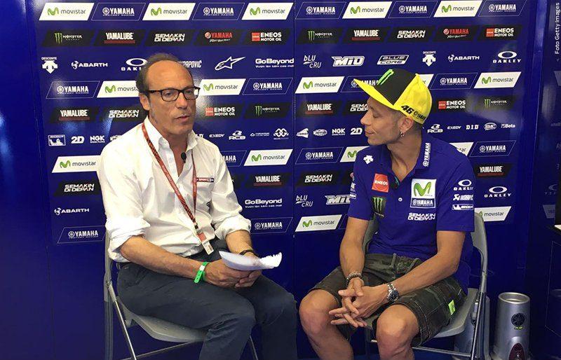 """""""Rossi c'è"""": intervista esclusiva di Guido Meda a Valentino"""