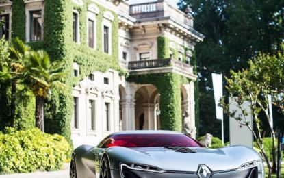 RENAULT TREZOR più bella concept car dell'anno