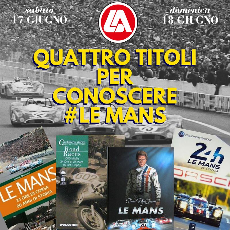 Quattro titoli sulla 24 Ore di Le Mans